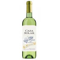 Вино Каса Солар белое п/сладкое 0,75л 11,5%