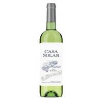 Вино Каса Солар белое сухое 0,75л 11,5%