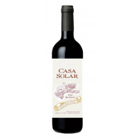 Вино Каса Солар красное п/сладкое 0,75л 12,5%
