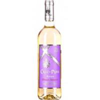 Вино Крус де Плата Кастилья Ла Манча Айрен белое п/сл 0,75л 11%