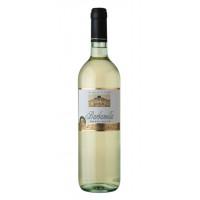 Вино Барбанелла белое сухое 0,75л 11,5%