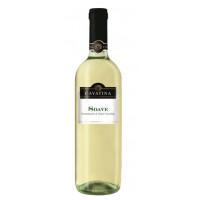 Вино Каватина Соаве белое сухое 0,75л 11,5%