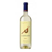Вино Каприани белое п/сл 0,75л 10,5%