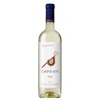 Вино Каприани белое сухое 0,75л 11%