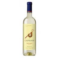 Вино Каприани Пино Гриджио Рубиконе белое п/сухое 0,75л 11,5%