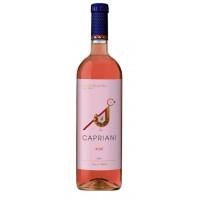Вино Каприани розовое сухое 0,75л 11%