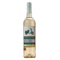 Вино Бонавита белое п/сухое 0,75л 9,5%