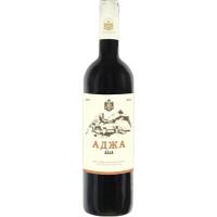 Вино Аджа столовое красное п/сл 0,75л 10,5%-12,5%