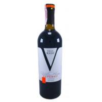 Вино Вилла Крым Саперави красное сухое 0,75л 13,5%