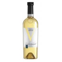 Вино Вилла Крым Шардоне белое сухое 0,75л 13%