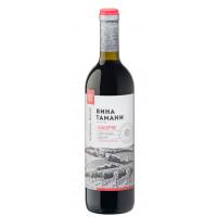 Вино Вина Тамани Каберне красное п/сл 0,7л 10-12%