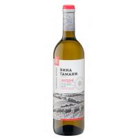 Вино Вина Тамани Кубань-вино Шардоне белое п/сл 0,7л 10-12%