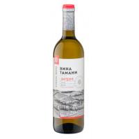 Вино Вина Тамани Кубань-Вино Шардоне белое сухое 0,7л 10-12%