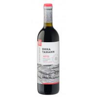 Вино Вина Тамани Мерло красное п/сл 0,7л 10-12%