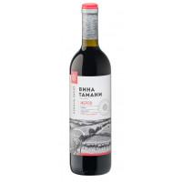 Вино Вина Тамани Мерло красное сухое 0,7л 10-12%