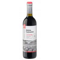 Вино Вина Тамани Саперави столовое красное п/сл 0,7л 10-12%