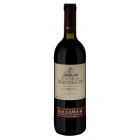 Вино Инкерман Рубин античный красное сухое 0,75л 14%