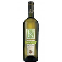 Вино Кубанская корона Мускат белое п/сладкое 0,75л 10,5-11,5%