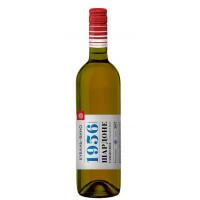 Вино Кубань-Вино Шардоне Таманское белое п/сл 0,75л 10-12%