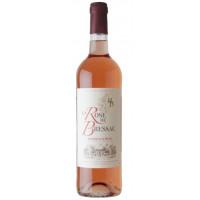 Вино Ля Роз Де Брессак Бордо розовое сухое 0,75л 11,5%