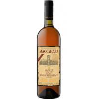 Вино ликерное Массандра Мускат Южнобережный белый 0,75л 16%