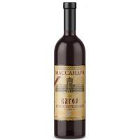 Вино ликерное Массандра Крым Кагор Южнобережный красный 0,75л 16%