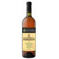 Вино ликерное Массандра Крым Портвейн Алушта белое 0,75л 17%