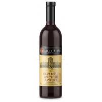 Вино ликерное Массандра Крым Портвейн Алушта красный 0,75л 17%