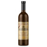Вино ликерное Массандра Крым Портвейн белый южнобережный 0,75л 18%