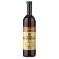 Вино ликерное Массандра Мускатель розовое 0,75л 16%