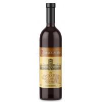 Вино ликерное Массандра Мускатель черное 0,75л 16%