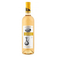 Вино Арамэ белое п/сл 0,75л 12%