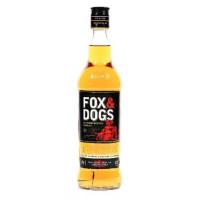 Виски Фокс энд Догс шотландский купажированный 0,7л 40%