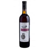Вино Арамэ красное сухое 0,75л 12,5%