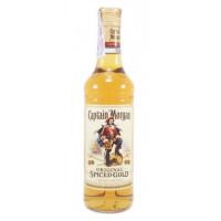 Напиток спиртной Капитан Морган пряный золотой 0,5л 35%