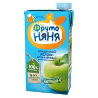 Сок Фруто-няня яблоко осветленный детский 0,5л