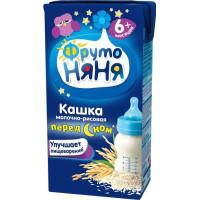 Кашка Фруто-няня молочно-рисовая 6+ 0,2л