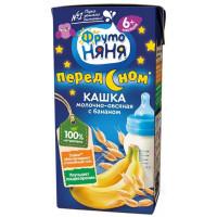 Кашка Фруто-няня овсяная молочная с бананом 200г