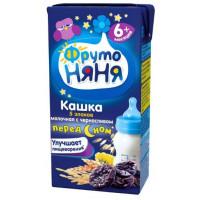Кашка Фруто-няня 5 злаков молочная с черносливом готовая к употреблению 200г