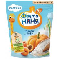 Каша Фруто-няня рисовая молочная с тыквой и абрикосами 200г