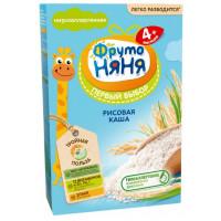 Каша Фруто-няня рисовая безмолочная 200г