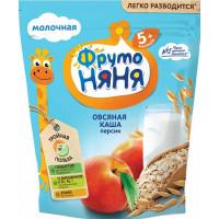 Каша Фруто-няня овсяная молочная с персиками 200г