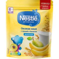 Каша Нестле овсяная молочная с грушей и бананом 220г