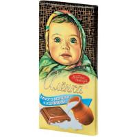 Шоколад Красный Октябрь Аленка много молока + кальций 100г