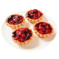 Набор пирожных Смольнинский ХлЗ Ягодное лето 115г*4