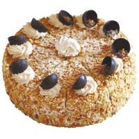 Торт Смольнинский ХлЗ ореховый 900г