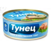 Тунец Рецепты моря филе в с/с 100г ключ