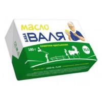 Масло Баба Валя крестьянское сливочное 72,5% 180г