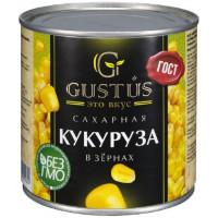Кукуруза Густус сладкая в/у 340г ж/б