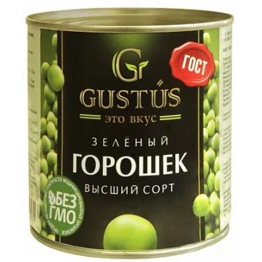 Горошек Густус зеленый 400г ж/б